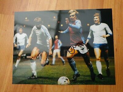 Hand Signed Gary Shaw Aston Villa Fc Football Action Photo Picture Autograph