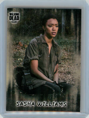2018 Topps Walking Dead Hunters and the Hunted PHOTO VARIATION Sasha Williams SP