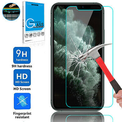 For iPhone 11/11 Pro/11 Pro Max 9H Clear Premium Tempered Glass Screen Protector