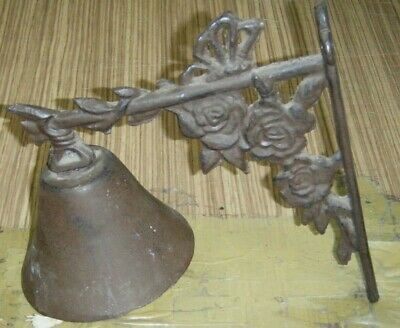 Vintage Style Cast Iron Door/Gate Bell