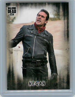 2018 Topps Walking Dead Hunters and the Hunted PHOTO VARIATION Negan SP