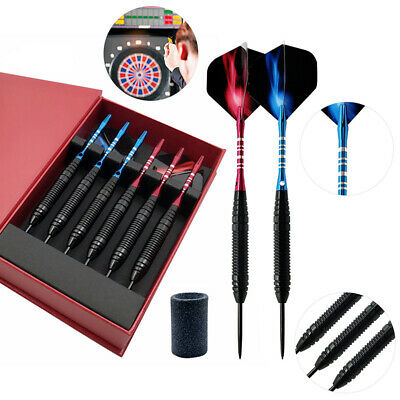 22g 6 Pcs/Sets of Tungsten Hard Steel Tip Darts,  Professional Games Competition