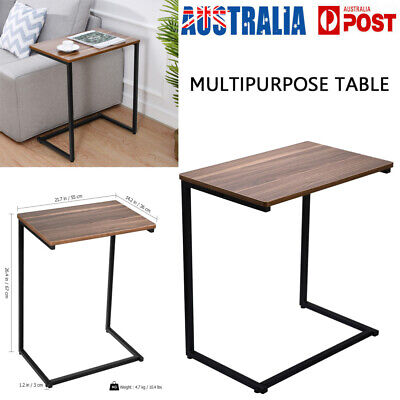 Wood Coffee Laptop Table Tray Sofa BedSide Desk End Table Study TV Dinner AU