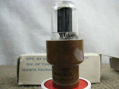 1 NOS 2050 /W Chatham Tung-Sol JAN-CTL Vacuum Tube -  IOB 1962 - Tested in PICs