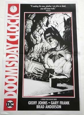 WonderCon 2018 Exclusive BATMAN Doomsday Clock Poster DC