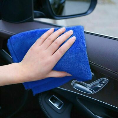 🔥 Large Microfibre Car Towel Cleaning Auto Detailing Soft Cloths Wash Duster