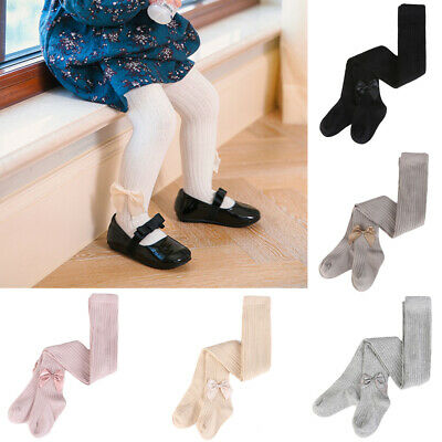 Toddler Baby Child Cute Bow Tights Girls Kids Soft Comfortable Pantyhose