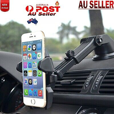 Car Universal 360 Windscreen Suction Mobile Phone Bracket Stand Holder Smart PH