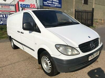2006 Mercedes-Benz Vito 2.1 109CDI Dualiner Basic High Roof Long Panel Van 5dr