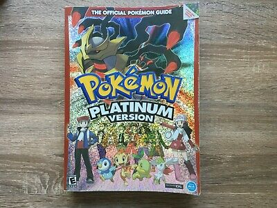 Pokemon Platinum Official Strategy Guide book | Nintendo DS | FastnFree Shipping