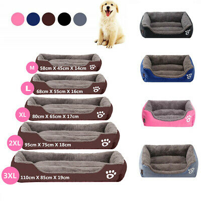 Fnova Soft Cozy Warm Dog Bed Pet Bed Kennel for Dogs Cats Comfortable & Washable