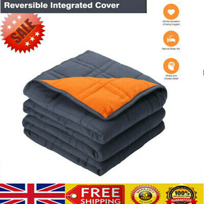 Double-stitched Weighted Blanket Gravity Blankets Sensory Sleep Reduce Anxiety