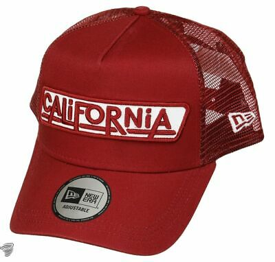 New Era 940 Usa Patch California A Frame Trucker Cap Gorra Original 12150287