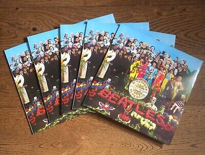 The Beatles Joblot X5 NEW Sgt Peppers Lonely Hearts Club Band 180g Vinyl..