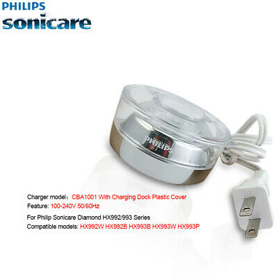 Genuine Philips DiamonClean Smart Toothbrush Charger CBA1001 For 9300/9500/9700