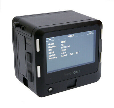 Phase One IQ1 50MP Digital Back Mamiya Fit     (C6037)