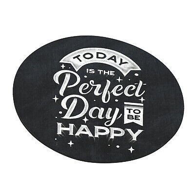 Positive Quote Computer Desktop Round Mouse Pad Anti Slip Rubber Gaming Mice Mat