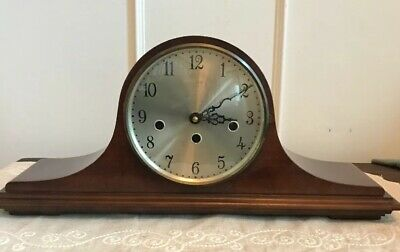 Vintage Elgin German Mantle Clock-movement Replaced. Works. Beautiful Condition