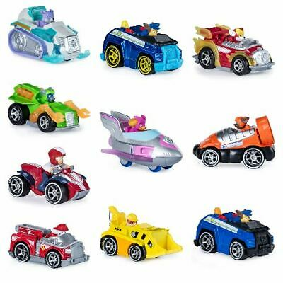 Paw Patrol True Metal Vehicles - Chase, Marshall, Ryder, Skye, Rubble & More!