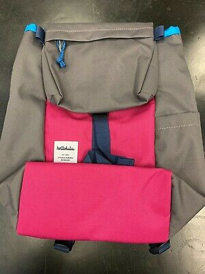 Hello Lulu Mini Sutton Child's Backpack, Grey/Pink, NWT