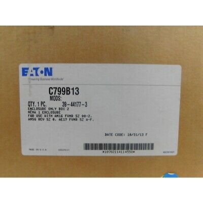 Eaton C799B13 Enclosure, Size 0, for Starter Nema 1