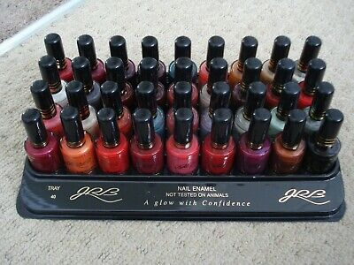 36 Different Colour Nail Polishes Varnishes Bankrupt Stock Carboot Clearance