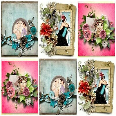 Card Making Toppers Embellishments Card Making ART DECO LUCINDA Card Toppers
