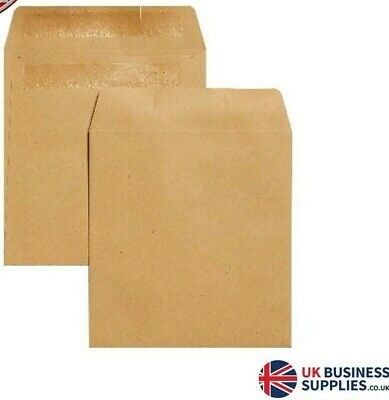 Plain Wage Envelopes 108x102mm 1000's Manilla Money Envelopes 1000