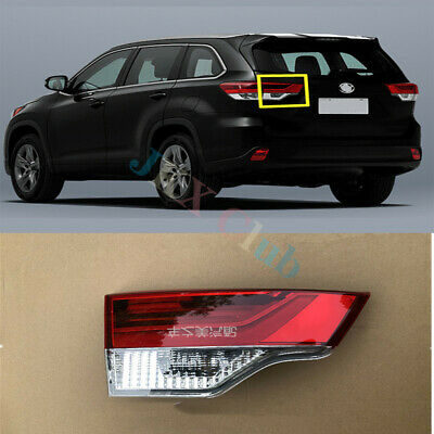 LH Driver Side Inside Tail Light Brake Lamp Assy For Toyota Highlander 2017-19 k