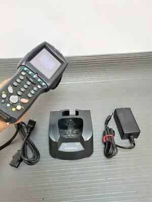 Datalogic Falcon 4420 Mobile Wireless Barcode Scanner & F4410 Dock  PWR Adapter