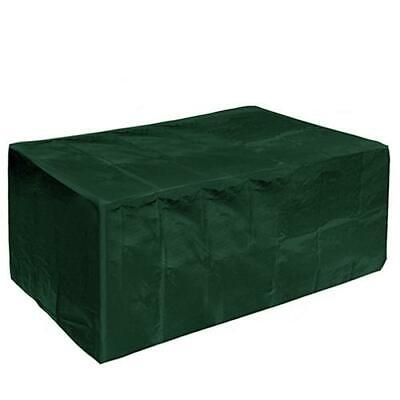 Faboer Heavy Duty Waterproof Rectangular Table Cover Patio Furniture Cover Green
