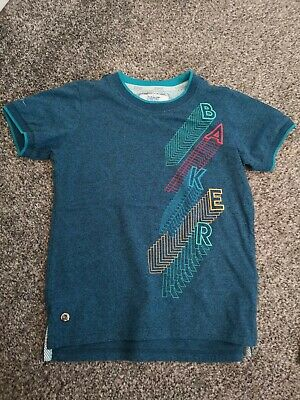 Boys Notre Dame Tshirts Navy size 8-9 Authentic Clothing FL011