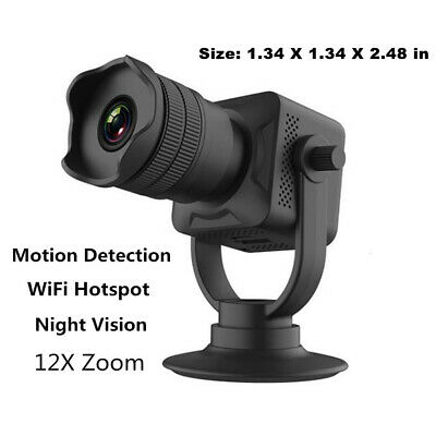 Mini Spia Nascosta Telecamera Wireless IP Wifi Spy Full HD Video Camera Micro DV