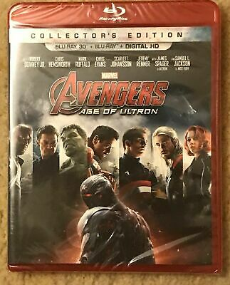 Avengers: Age of Ultron in 3D     (Blu-ray Disc, 2015, Includes Digital Copy 3D)