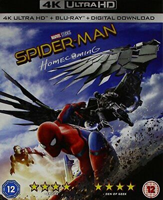 SPIDER-MAN HOMECOMING (2 DISCS - BD and UHD) [DVD][Region 2]