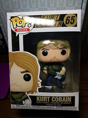 Kurt Cobain Funko Pop 65 Nirvana