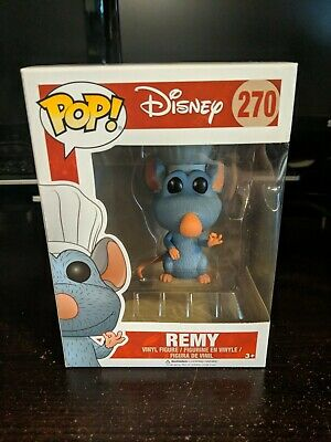 Funko POP! Disney: Ratatouille Remy #270 HTF Vaulted Rare with Protector