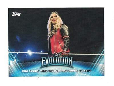 2019 Topps WWE Women's Division WOMENS EVOLUTION Set (10) TONI STORM/ LYNCH +