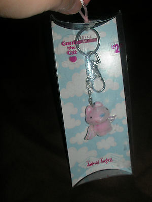 Cosmo The Cat Keyring  Animal Angels George Girl