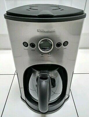 Andrew James Filter Coffee Maker With Timer | Programmable Automatic Drip