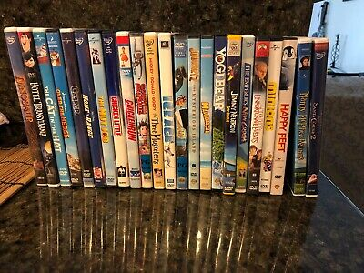 DVD Lot 21 Disney Universal Dreamworks DVD Animated Movies Kids Family Cartoons