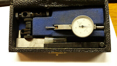 Vintage Lufkin Tool Co. Swiss Made Last Word Style Dial Indicator .0005 Grad.
