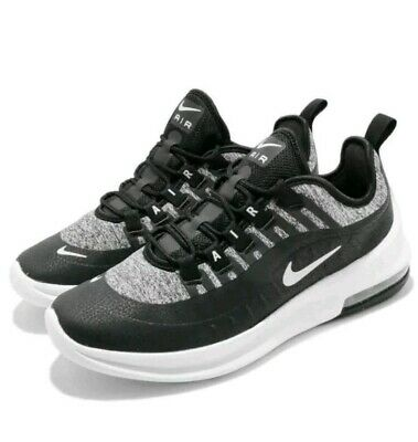 New Ladies Girls Boys Nike Air Max Axis SE Black White Grey Trainers UK Size 6