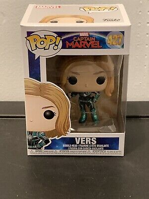 Funko Pop! Marvel: Captain Marvel VERS #427 (SR14)