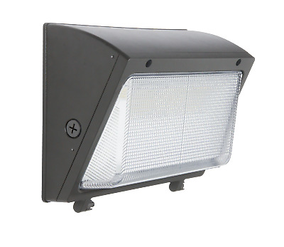 LED Wall Pack Light 60W 120W Outdoor Flood w/ GLASS LENS 150w-450w Equivalent