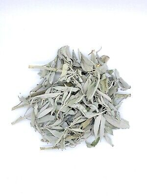 1/2 LB of Loose California White Sage Smudge Leaves & Clusters 8 oz