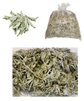 1 LB of Loose California White Sage Smudge Leaves & Clusters 16 oz