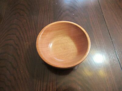 "Wood Bowl 7 3/4"" x 3 1/2"", Sapele Wood"