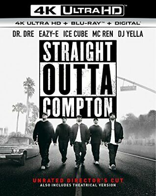 Straight Outta Compton - Director's Cut [Blu-ray] [DVD][Region 2]