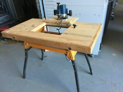 Triton Series 2000 Router & Jigsaw Stand Table Top w Plunger Router - Used